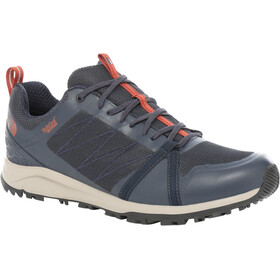 The North Face Litewave Fastpack II WP Chaussures Homme, urban navy/picante red